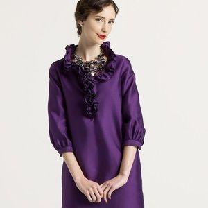 Kate Spade Briella Silk Dress in Purple